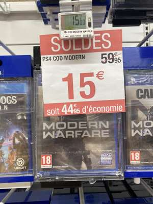 Call of Duty: Modern Warfare sur PS4 et Xbox One