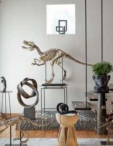 Statue de dinosaure en polyrésine Dona - L81cm