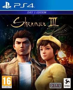 Shenmue III sur PS4 (Uniquement en magasin)
