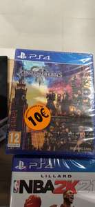 Jeu Kingdom Hearts III sur PS4 - Cloche d'Or (Frontaliers Luxembourg)