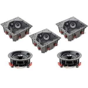 Pack d'Enceintes Encastrables plafond 5.0 Focal 100 IC LCR5