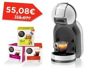 Machine à capsules Krups Nescafé Dolce Gusto Mini Me + 12 Paquets de 16 Capsules Nescafé Dolce Gusto