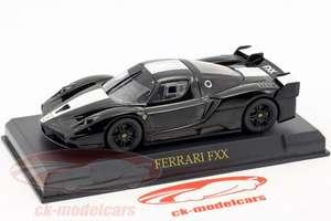 Voitures de modélisme en promotion - Ex : Ferrari FXX année 2005-2006 noir / blanc 1:43 (Frais de port inclus - ck-modelcars.de)