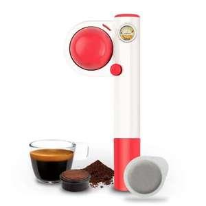 Machine à expresso à dosettes portable Handspresso Pop - Rose