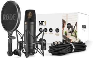 Kit Microphone statique Rode NT1 + Suspension SM6 & Filtre Anti-Pop