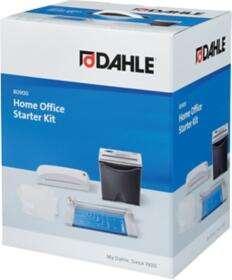 Kit Dahle Home Office Starter : Destructeur de documents + Plastifieuse + Rogneuse - Noir / Gris