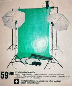 Kit studio photo vidéo