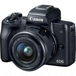 Appareil photo hybride Canon EOS M50 + Objectif 15-45 Mm