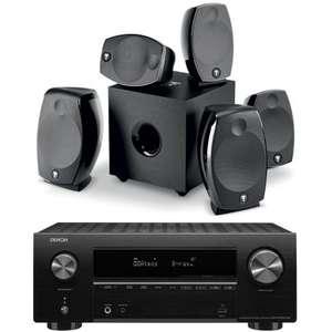Enceintes Home Cinéma Focal Sib Evo 5.1 + Ampli Denon AVR-X2700H DAB