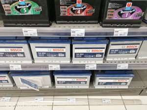 Sélection de Batteries Auto Bosch S4005 (48,25€) S4008 (60,66€) et marques distributeurs en promotion - Super U Thourotte (60)