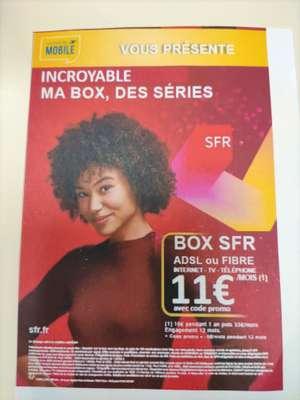 [Nouveaux Clients] Abonnement Box SFR Fibre ou ADSL (Pendant/Engagement 12 mois - Frais mise en service 49€) - Saint-Jean-de-Braye (45)