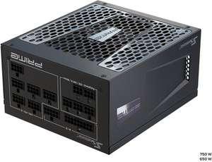 Alimentation PC modulaire Seasonic Prime TX-650 - 80 Plus Titanium, 650W