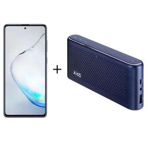 "Smartphone 6.7"" Samsung Galaxy Note 10 Lite (128 Go) + Enceinte Bluetooth AKG S30"