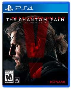 Sélection de jeux PS4 en promotion - Ex: Metal gear 5 the phantom pain 3,84 euros (Dématérialisé - Store BR)