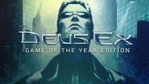 Deus Ex version GOTY sur PC (Dématérialisé - Sans DRM)