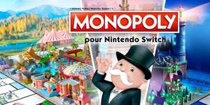 Monopoly sur Nintendo Switch (Dématérialisé)