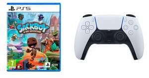Sackboy sur PS5 + Manette PS5 Sony Dualsense (frontaliers Belgique)