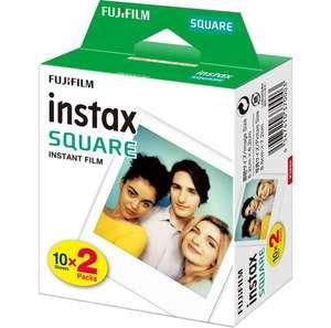Lot de 2 paquets de 20 feuilles papier photo Fujifilm Instax Square - 2 x 20 feuilles, Diverses variantes (Magasins participants)