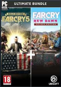 Far Cry 5 Gold Edition + Far Cry New Dawn Deluxe Edition Bundle sur PC (Dématérialisé - Uplay)