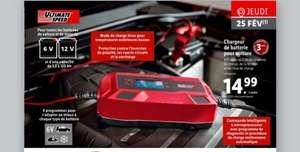 Chargeur de Batteries Auto Ultimate Speed- 12V / 6V