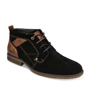 Chaussures Denim Side Cuir pour Hommes -Tailles au choix (Via Click & Collect)