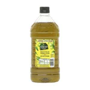 Bouteille d'huile d'olive vierge extra l'Olivaé (2 litres)