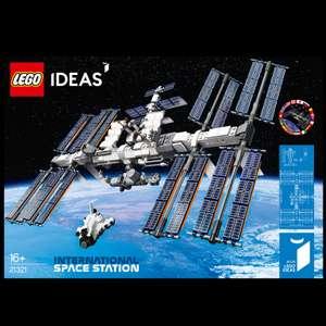 LEGO Ideas 10ème anniversaire - ISS La station spatiale internationale 21321 (54.99€ via le retrait magasin)