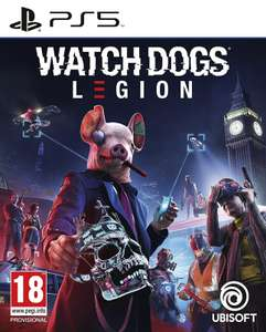 Watch Dogs Legion sur PS5 (Frontaliers Belgique)