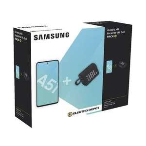 """Pack Smartphone 6.5"""" Samsung Galaxy A51 + Enceinte JBL Go 3"""
