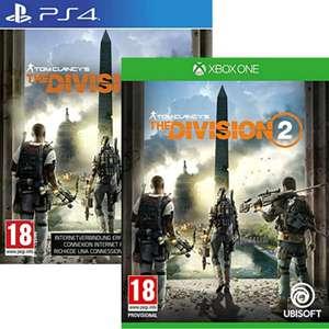 Tom Clancy's The Division 2 sur PS4 ou Xbox One (jaquette FR)