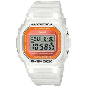 Montre Casio G-Shock DW-5600LS-7ER - Etanche à 200m, Alarme, Chrono 1/100sec., Calendrier automatique (mondialmontres.fr)