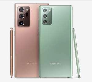 "Sélection de smartphones en promotion - Ex : Smartphone 6,7"" Samsung Galaxy Note 20 4G - 256 Go + Galaxy SmartTag offert"
