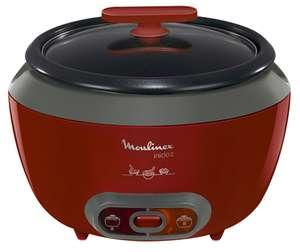 Cuiseur à riz Moulinex Inicio 2 MK156500 - fonction maintien au chaud, 1.8 L, 560 W, rouge (via retrait en magasin)