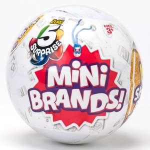 Pochette surprise Mini brands 5 mini marques Surprises