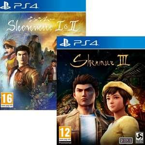 Shenmue 1 & 2 ou Shenmue 3 sur PS4
