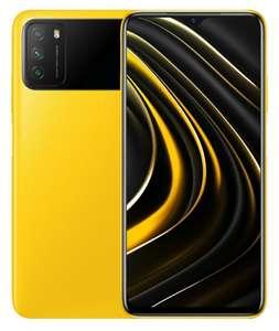 """Smartphone 6.53"""" Xiaomi Poco M3 3 coloris - 128 Go, 4 Go RAM (64 Go à 109.90€) - Po.co"""