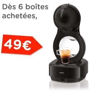 Sélection d'offres promotionnelles - Ex: Machine à café automatique Dolce Gusto Lumio + 6 boites de capsules