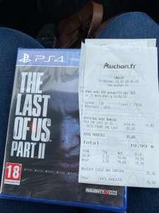 Jeu Last of Us part II sur PS4 - Auchan Englos (59)
