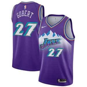 Maillot Jeunes Swingman Utah Jazz Nike Classic Edition - Rudy Gobert