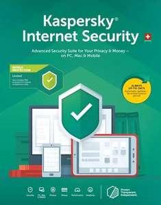 Licence Kaspersky Internet Security - 1 an, 1 poste (Dématérialisé)