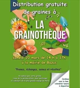 [Habitants de Bazus] Distribution gratuite de graines locales et rustiques.- Bazus (31)