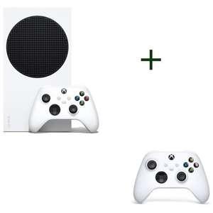 Pack Console Microsoft Xbox Serie S + 2 ème manette