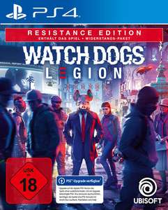 Jeu Watch Dogs Legion Edition Resistance sur PS4 & Xbox One / Series X (Frontaliers Allemagne)