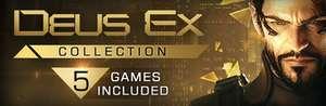 Deus Ex Collection : L'intégralité de la Licence avec les 5 jeux + tous leurs DLC sur PC (Dématérialisé)