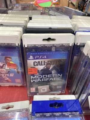 Sélection de jeux en promotion - Ex: Call Of Duty Modern Warfare sur PS4 - Lille Lomme (59)