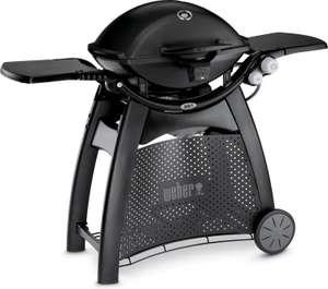 Barbecue chariot à gaz Weber Q 3200 - 2 brûleurs, 6360 W, noir