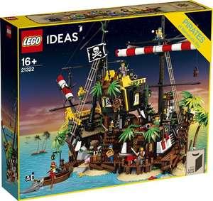 Jeu de consrtuction Lego Ideas - Les pirates de la baie de Barracuda (21322)