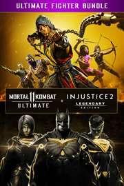 Double Pack Mortal Kombat 11 Ultimate + Injustice 2 Legendary Edition sur Xbox One (Dématérialisé - Store BR)