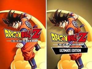 Jeu Dragon Ball Z : Kakarot Standard Edition à 14,73€ & Ultimate Edition à 28,73€ sur Xbox One (Dématérialisé - store BR)