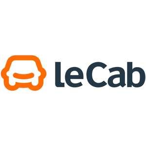 5€ de réduction sur vos 3 prochaines courses leCab